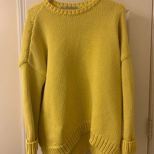 Zara Yellow Sweater